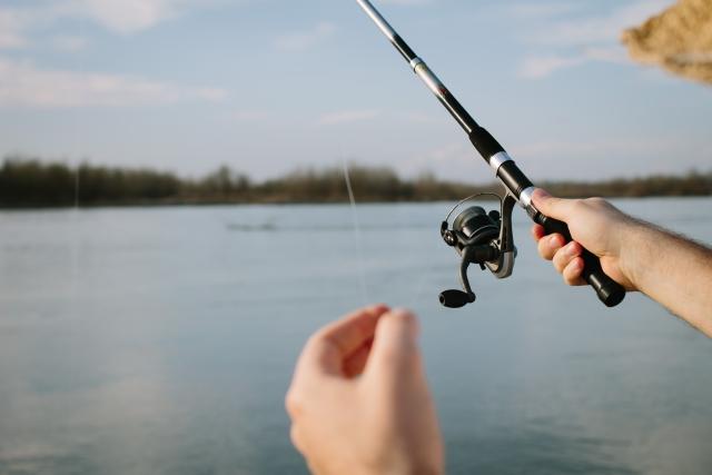 釣りをしている
